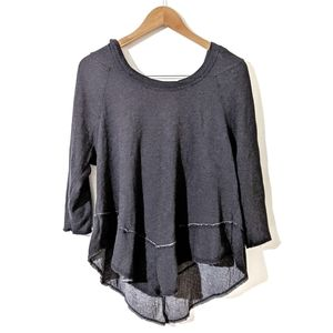 ABLE Grey Hooded Tunic Grey Size Large